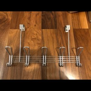 Over door rack with hooks